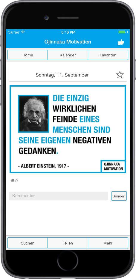 Sprüche Zitate App